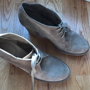 J.crew brand new beige suede boots spring deal